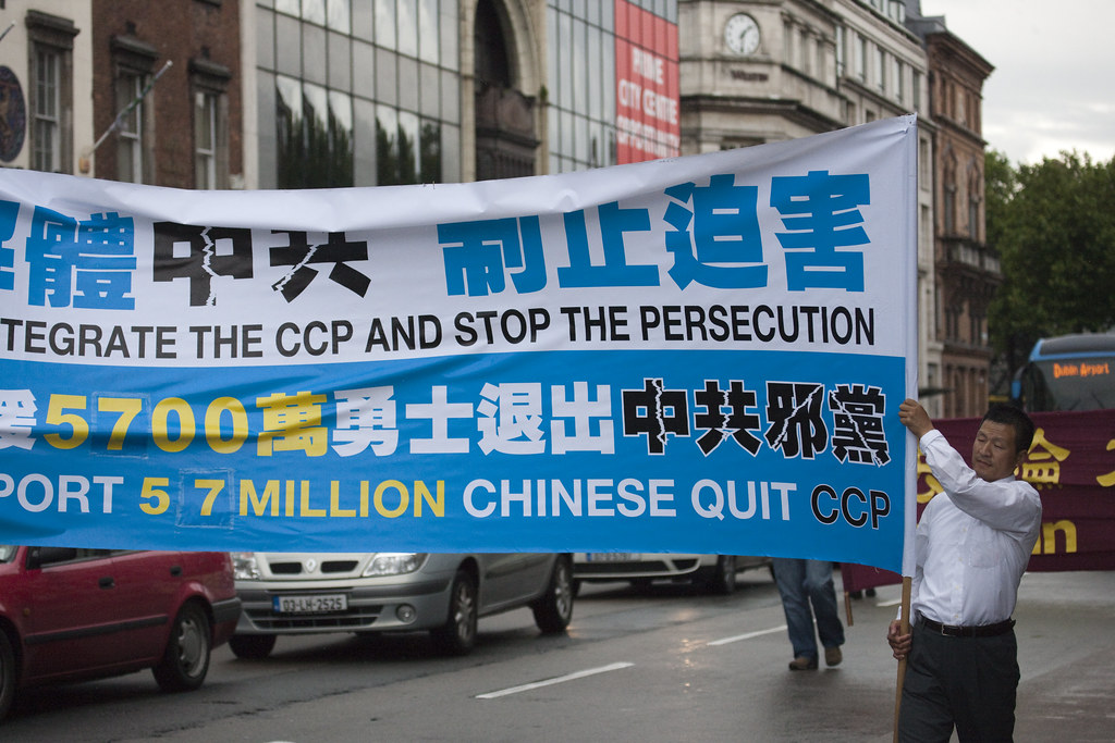 Falun Gong Practitioners Directing Attention To Human Rights Issues In China