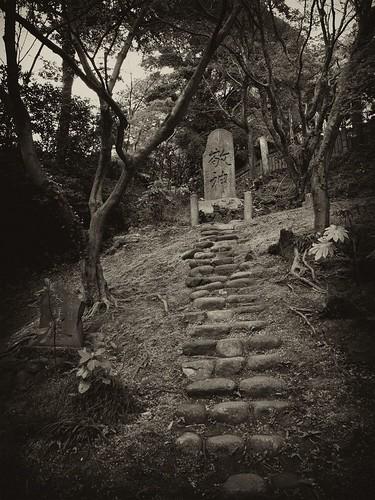 階段の先に