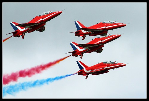 RIAT 2009 RAF Red Arrows