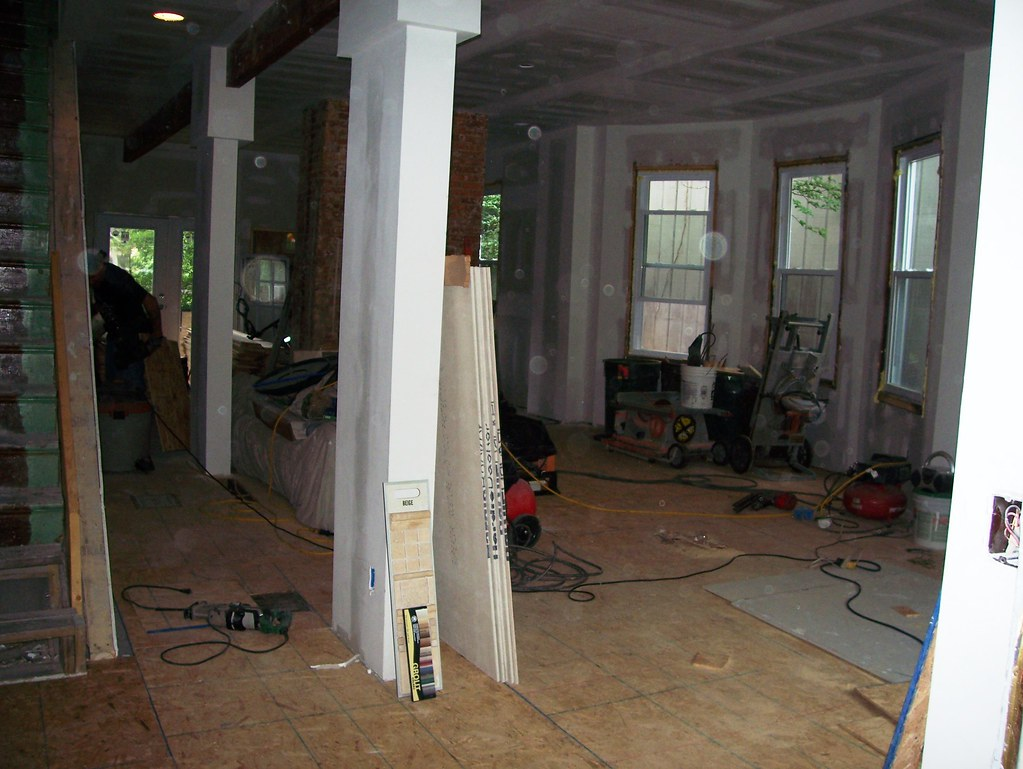 Subfloor added Prior to Wide Plank Flooring