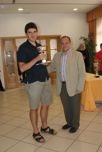 Josep Manel Lopez, tercer classificat