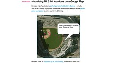 blog » visualizing MLB hit locations on a Google Map_1249007239708