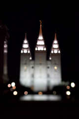 The Temple (Nick, Programmerman) Tags: temple downtown saltlakecity mormontemple canontse90mmf28 90tse 5dii verytilted