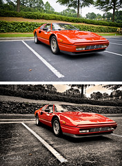 Ferrari 328 - Before & After (crashmattb) Tags: photoshop ferrari 328 beforeandafter retouching cs3 canoneosdigitalrebelxti sigma1770mmf2845dc