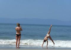 Piruetas en la playa (Jos Lira) Tags: nayarit