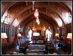 Gothic Study at Hearst Castle (Dusty_73) Tags: california travel usa castle america san julia interior united gothic william tourist study age states morgan gilded hearst luxury cambria simeon randolph