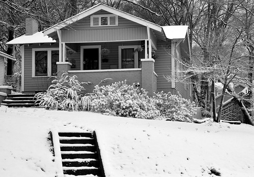 Snow on McCracken House