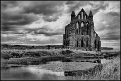 Gothic Abbey (Lazenby43) Tags: cloud english heritage church abbey yorkshire gothic ruin dracula whitby aplusphoto