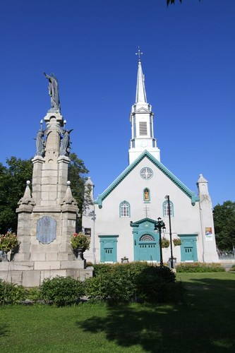 Village church, Quebec.