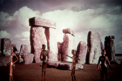 laurie simmons tourism pink stonehenge
