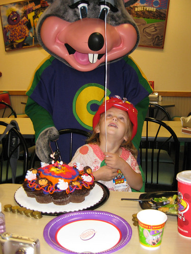 Gretchen at Chuck E Cheese