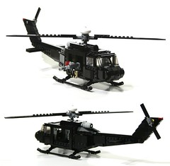 huey (WIP sort of) (psiaki) Tags: matrix army lego bell vietnam huey helicopter gunship iroquois moc uh1