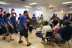 09 Center Post Village Demo