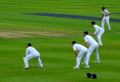 slips (nic_r) Tags: england test australia cricket ashes edgbaston andrewflintoff andrewstrauss s6500fd ravibopara mattprior graemeswann 2009edgbastonday5