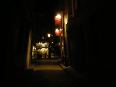 to the arms of the night (ÇaD) Tags: street city paris france night lights chad cagdas deger cagdasdeger