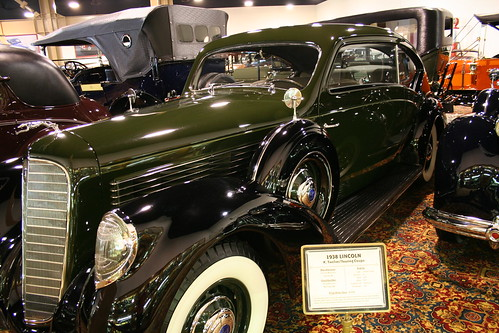 1938 Lincoln K Twelve Touring Coupe