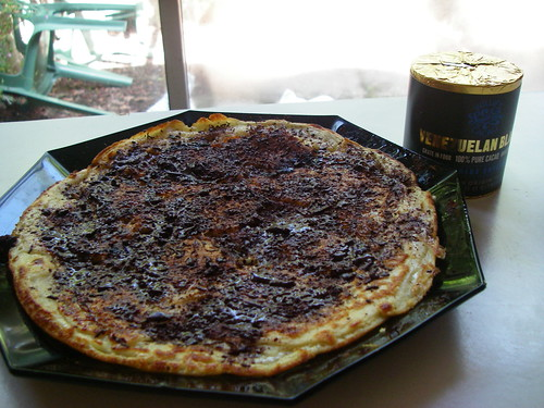 Banana Pancake with Grated Chocolate