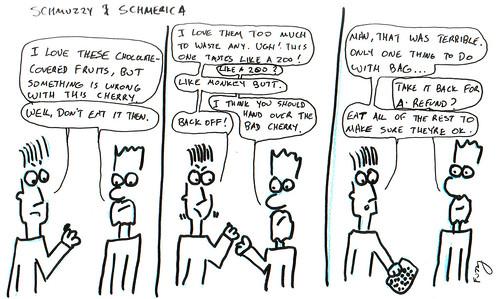 366 Cartoons - 207 - Schmuzzy and Schmerica