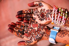 Indian body art (evamathemat) Tags: india hands eva decoration henna bodyart mendhi evamathemat