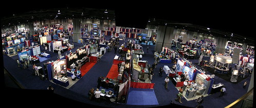 panorama of ACS 09 exhibition hall