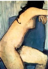 Sillón Azul de Rafael Alonso por TeresalaLoba (TeresalaLoba) Tags: nude arte galicia pintura desnudo oiloncanvas artgalleryandmuseums pintoresgallegos rafaelalonsofernandez teresalaloba