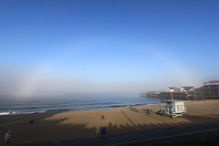 Rare Rainbow at Redondo Beach California (NSB L A Photo) Tags: california morning usa mist beach fog canon photography photo rainbow l redondo nsb a oceran looklaphoto nsbernas nsblaphoto nsbernasphotography nsbernasphotography