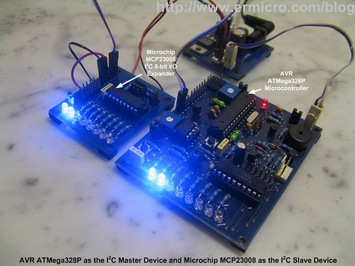 Transforming your AVR Microcontroller to the I2C (TWI) Slave I/O Expander Devices Project (1)