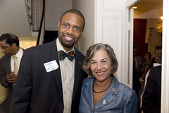 Michael J. Wilson with Rep. Jan Schakowsky (D-IL)