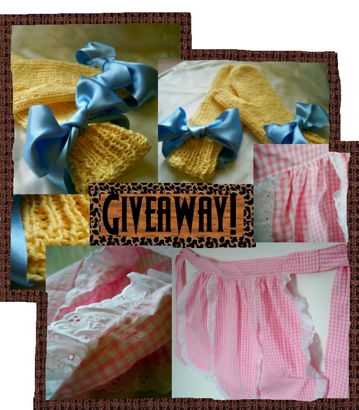 Giveaway! Check my blog!