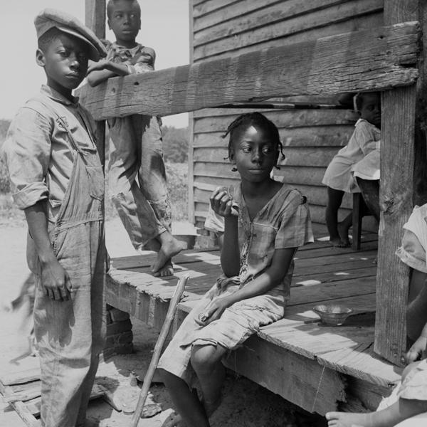 Children of the Mississippi Delta, 1936