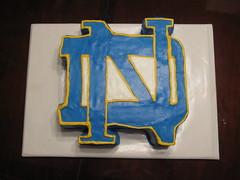 Notre Dame Birthday Cake