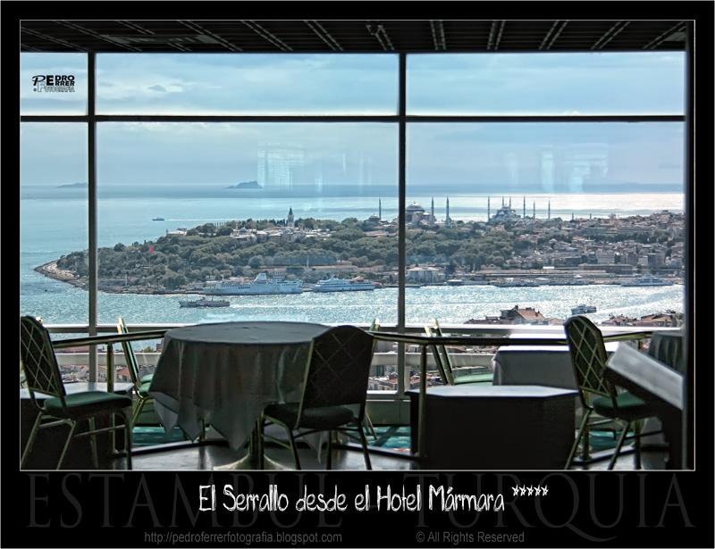 El Serrallo desde el Hotel Mármara