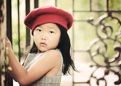 B E R E T (Shana Rae {Florabella Collection}) Tags: light red portrait girl hat nikon gate iron child natural 85mm beforeandafter beret vintagewine d700 mygorgeousdaughter shanarae florabellatextures florabellaactions