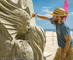 Sandsculpting 189 (VB City Photographs) Tags: festival virginia nikon north american d200 virginiabeach neptune sandsculpting vbcityphotographs