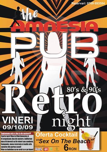 9 Octombrie 2009 » Retro Night
