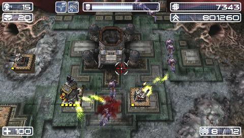 Savage Moon PSP Screenshot 3