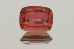 Red-Orange Tourmaline (Peter Torraca) Tags: red orange cushion rectangle gem tourmaline gemstone