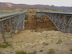 Twin Navajo Bridges (hiddentravel) Tags: arizona nature outdoors page pagearizona