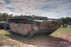 IMG_1313_4_5_tonemapped (SdcRX4) Tags: virginia buffalo wwii vehicles armored hdr amphibious tracked nmaw lvt photomatix nokesville