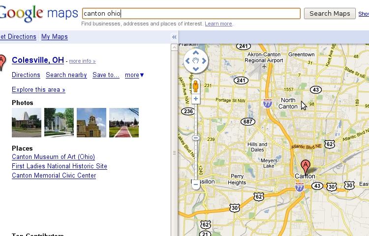 Back On The Map Canton Ohio Cornfield Meet