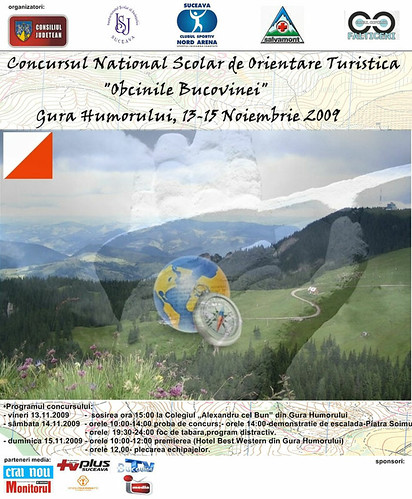 13-15 Noiembrie 2009 » Concursul Naţional de Orientare Turistică Obcinile Bucovinei