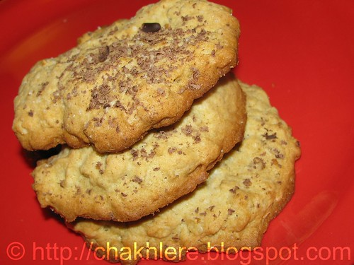 Chakh... Le... Re!: Savory Oatmeal cookies...!!!
