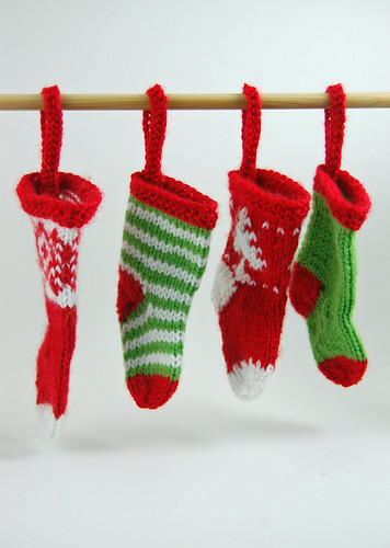 Mini Stocking Ornaments 01
