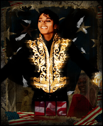Michael Jackson - USA For Africa . Save World collection by TheLean.