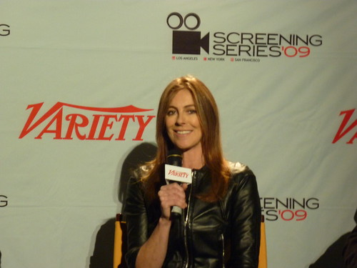 Kathryn Bigelow at a Q&A session