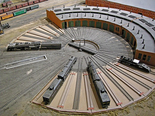 HO Scale Roundhouse