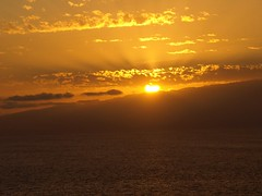 Golden Sun (Join Sparkle) Tags: travel sea mountains water sunrise islands landscapes scenery sunsets goldensunsets sunsetsparkle colourfulsunsets