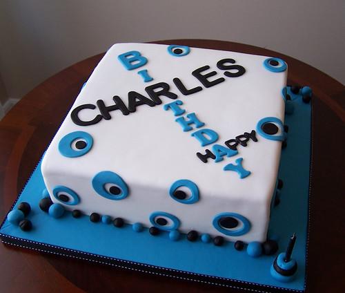 Birthday Cake 35. Masculine Birthday Cake