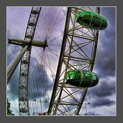 London Eye 1 (Rathmore Rambler) Tags: london londoneye olympusc5060 2007 tonemapped rathmorerambler