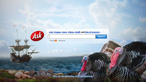 Ask.com Thanksgiving Logo